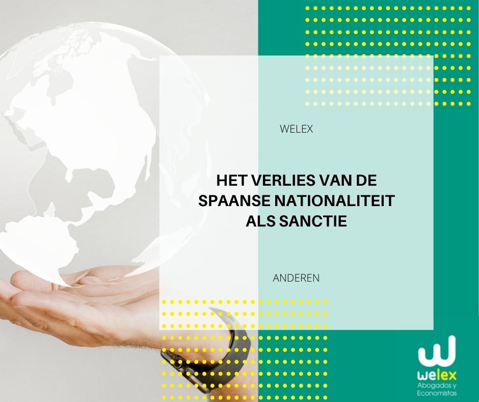 Het verlies van de Spaanse nationaliteit als sanctie