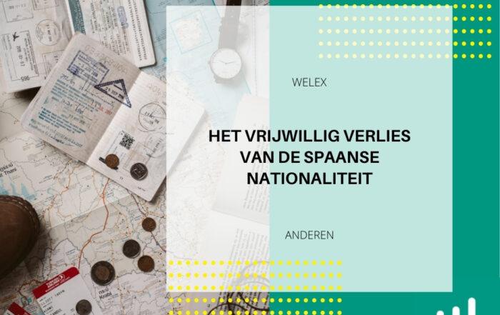 In Spanje bestaan situaties na de verwerving met volledige rechtsgeldigheid waarin U vrijwillig verlies van de Spaanse nationaliteit.