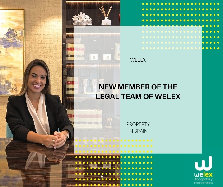 New member of the legal team in Spain of Welex