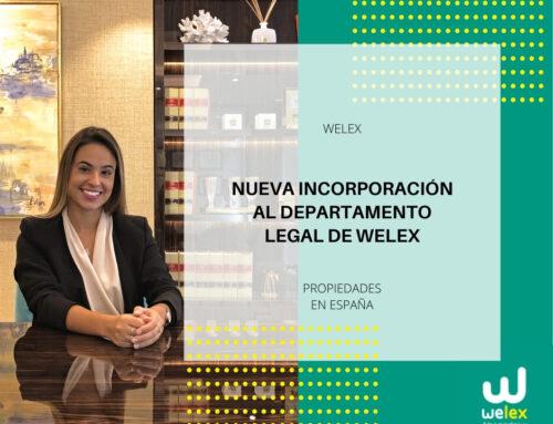 Nueva incorporación al departamento legal de Welex | WELEX